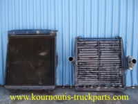 Radiator and Intercooler for Volvo F12