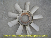 Used plastic ventilator