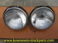 Used round Sealed-Beam Wagner headlights