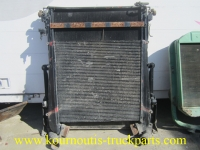 Used radiator and intercooler for Scania 143 truck