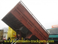 Used tipper box from Mercedes-Benz 1219 truck